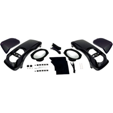 HOGTUNES SADDLEBAG LID SPEAKER KIT [4405-0289]
