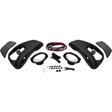HOGTUNES SADDLEBAG LID SPEAKER KIT [4405-0393]