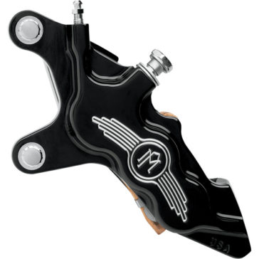 "Performance Machine 6 PISTON CONTRAST CUT™ DIFFERENTIAL-BORE LEFT FRONT BRAKE CALIPER 11.5"" [1701-0299]"