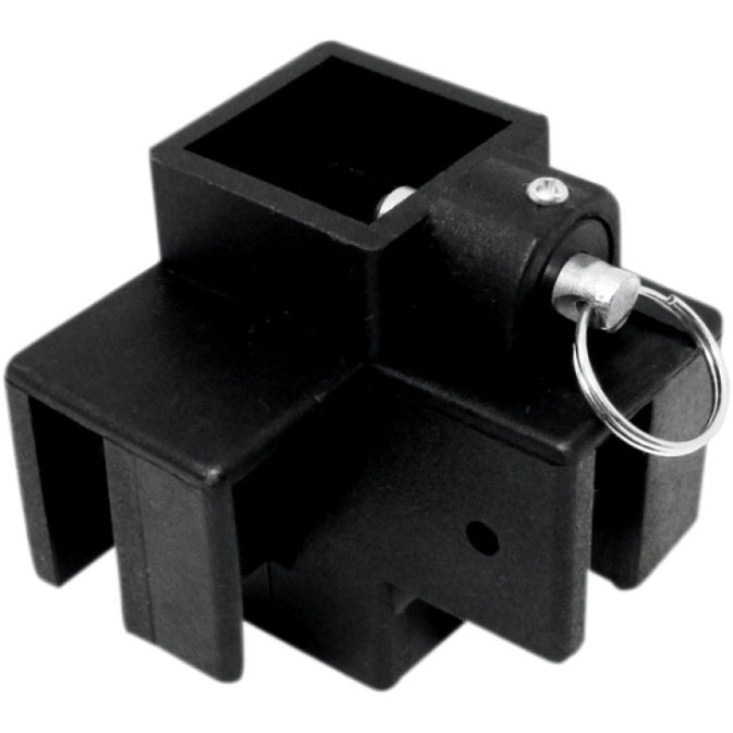 Plastic Replacement Bottom Fitting for Standard Corner Leg with Pull Pin [4030-0015]
