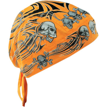 ZAN HEADGEAR Tribal Skull Flydanna® Headwrap [2504-0295]