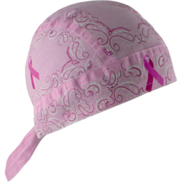 ZAN HEADGEAR Paisley Breast Cancer Flydanna® Headwrap [2504-0206]