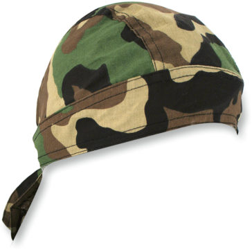 ZAN HEADGEAR Woodland Camo Flydanna® Headwrap [2504-0169]