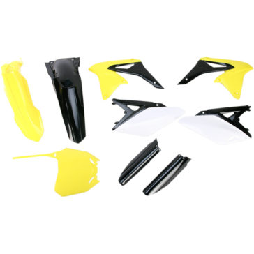 ACERBIS REPLACEMENT PLASTIC KITS [1403-1218] SUZUKI RM-Z250 2010 - 2016