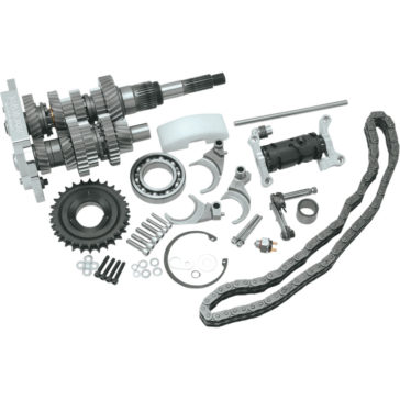 BAKER DIRECT DRIVE 6-SPEED GEAR SET KITS [1103-0005] 2000-2006 DYNA,SOFTAIL