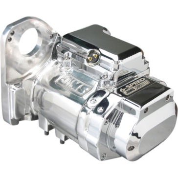 JIMS POLISHED 6-SPEED OVERDRIVE TRANSMISSION [1101-0030] 1991-1999